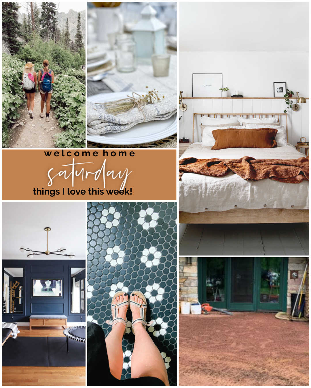 Welcome Home Saturday - Things I Love for July! I'm sharing some beautiful summer DIY ideas and things I love for July.
