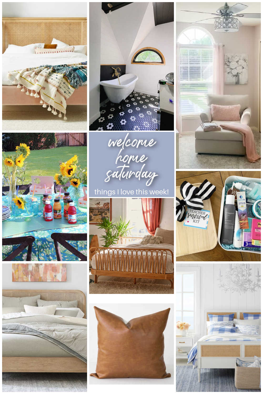 Welcome Home Saturday with Cottage in the Mitten. DIY projects, bathroom remodel update and things I love this week!