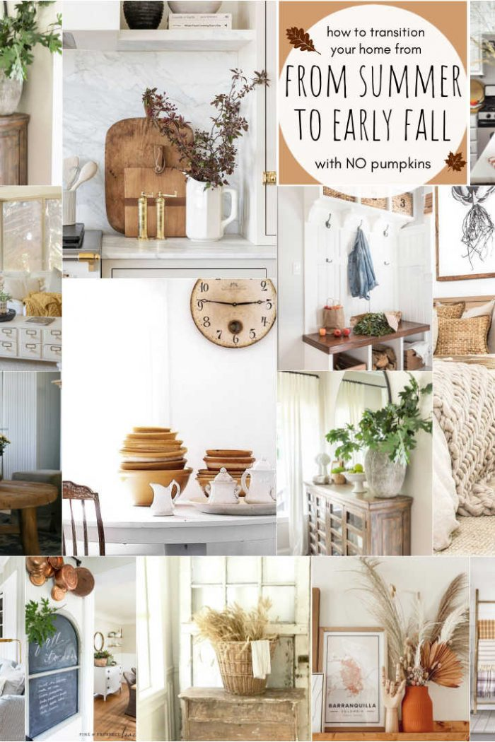 Easy Ways to Transition Your Home From Summer to Early Fall