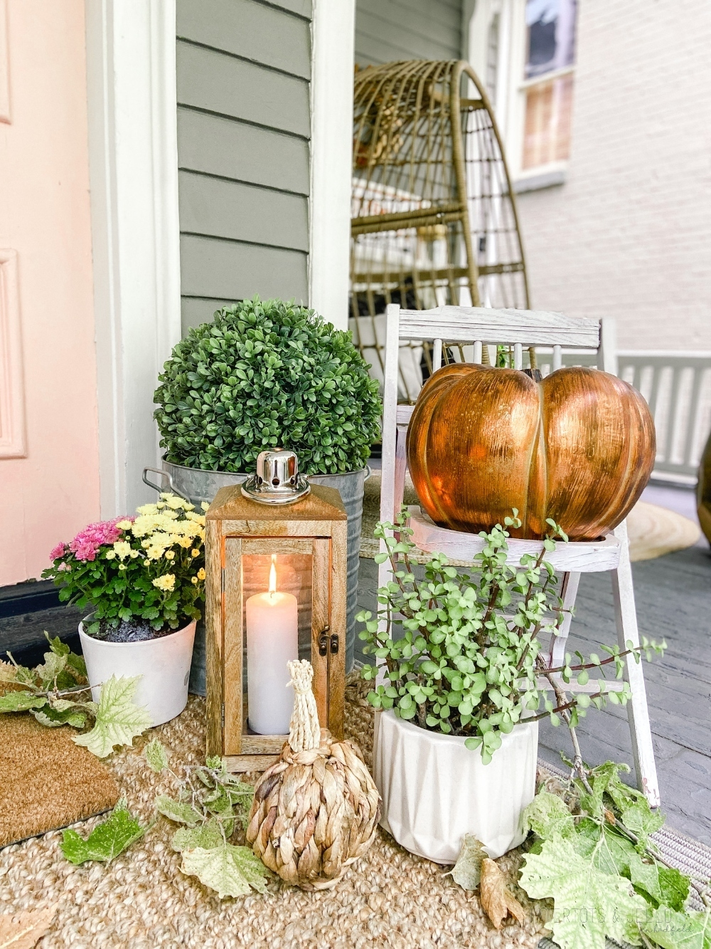 Four Ways to Create a Boho Cottage Fall Porch. Create a warm, casual and inviting fall porch with these FOUR easy ideas!