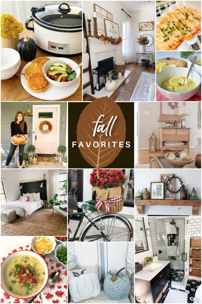 Welcome Home Saturday – Fall Favorites!