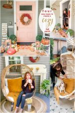 Four Ways to Create a Boho Cottage Fall Porch