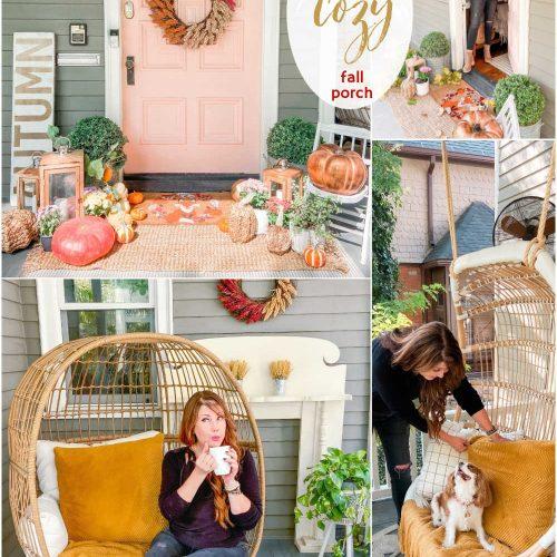 Four ways to create a cozy porch