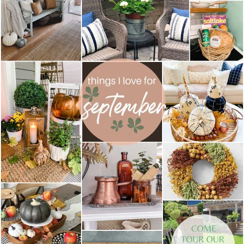 Things I Love for the First Week of September