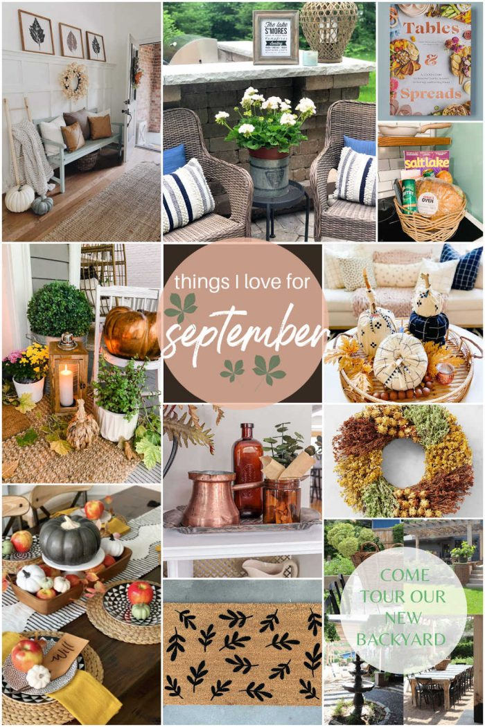Welcome Home Saturday – Things I Love for September