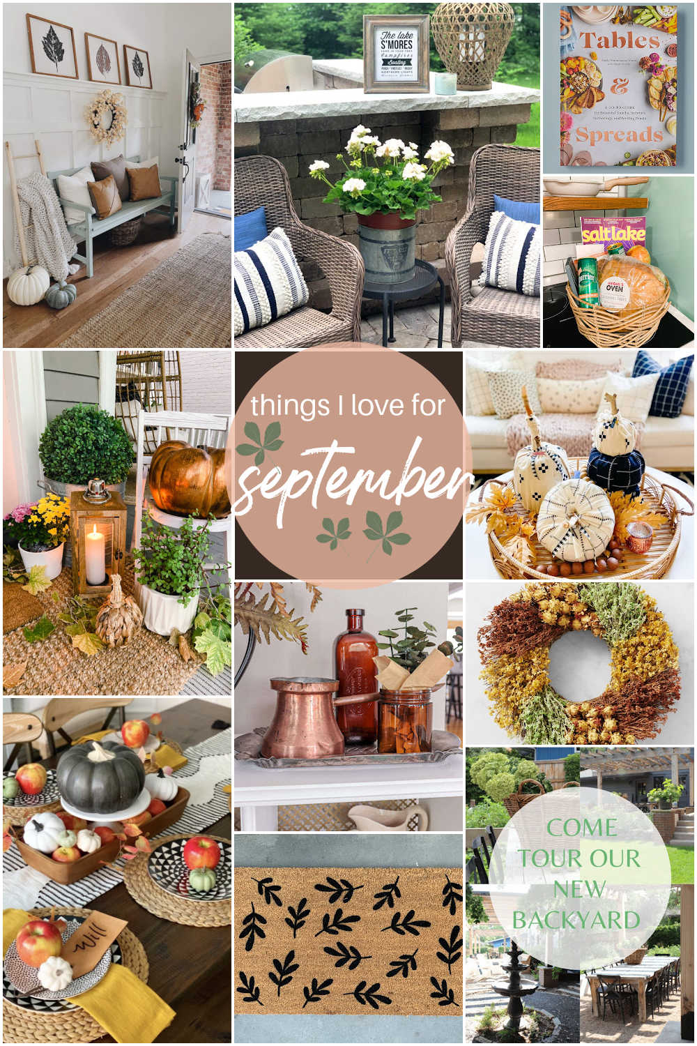 Welcome Home Saturday - Things I Love for September. Bathroom remodel is done, bedroom remodel update, airbnb ideas, fall decor and fall DIY ideas!