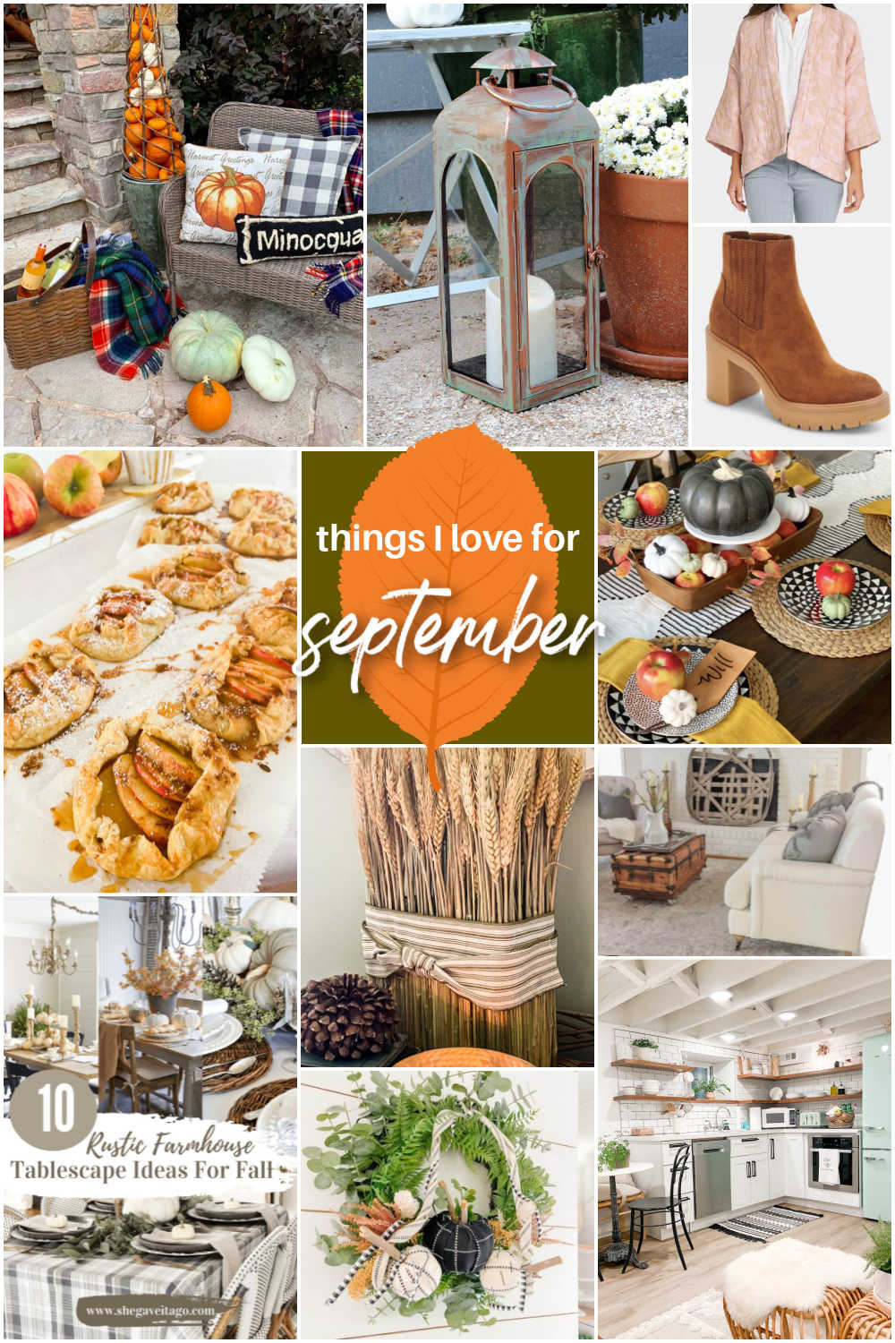 Welcome Home Saturday - Things I Love This Week! Fall fashion, finds, decor and DIY projects!
