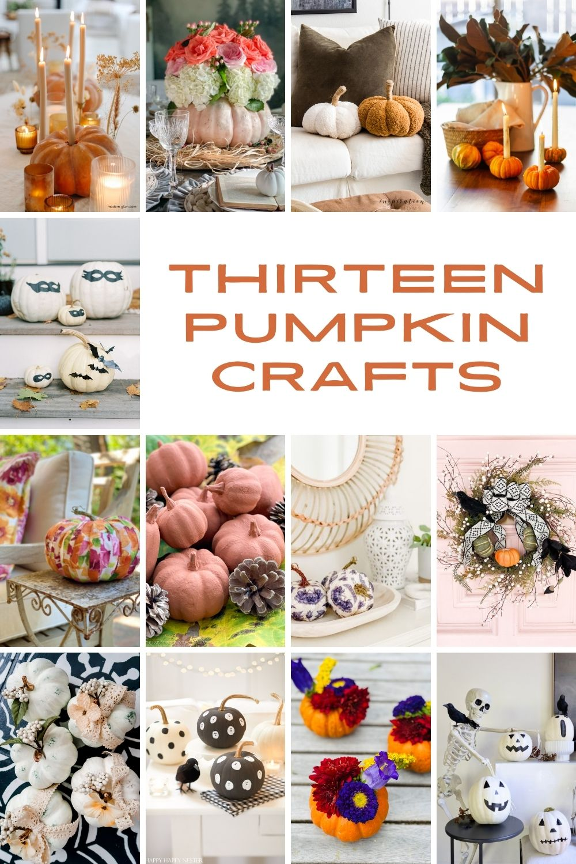 13 pumpkin crafts