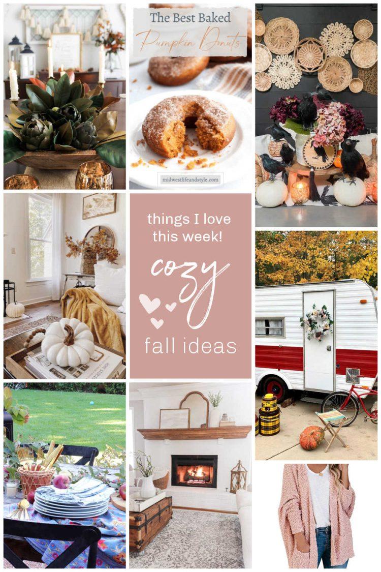 Cozy Fall Ideas