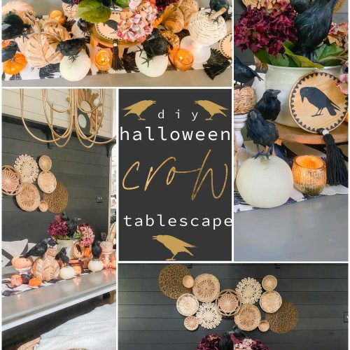 Halloween Crow Party Tablescape