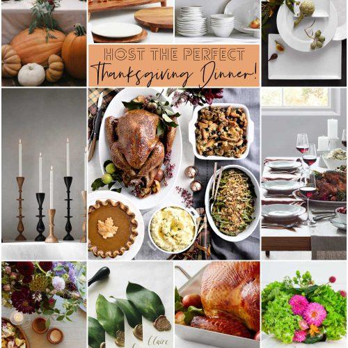 Easy Ways to Host Thanksgiving Dinner