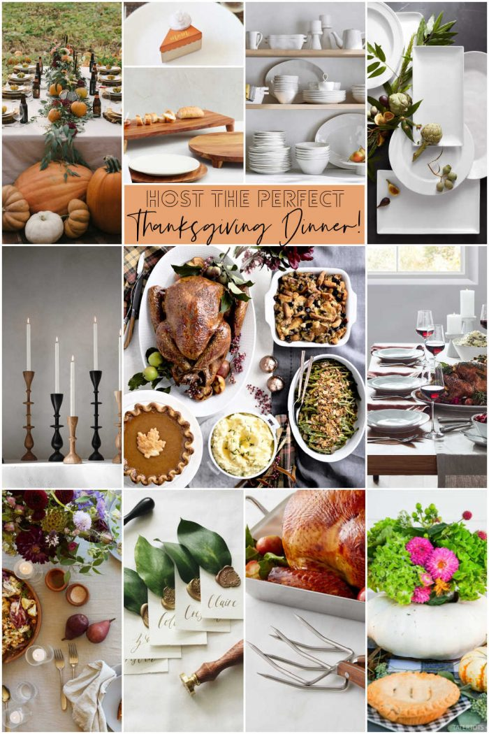Host the Perfect Thanksgiving Dinner!