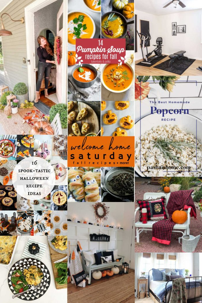 Welcome Home Saturday – Fall Recipes and Inspiration!